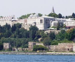 Puzle Palác Topkapi, Istanbul