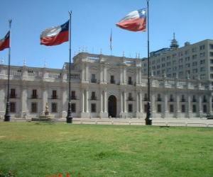Puzle Palacio de La Moneda, Chile