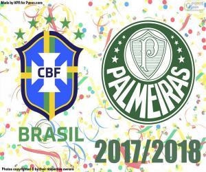 Puzle Palmeiras, brazilský mistr 2018