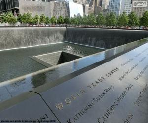 Puzle Památník 11-S, New York
