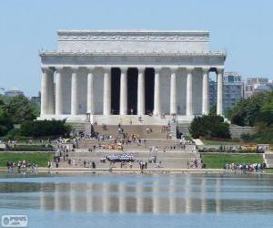 Puzle Památník na Lincoln, Washington, Spojené státy