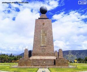 Puzle Památník středu světa, Ekvádor