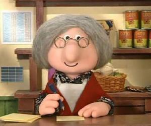 Puzle Paní Goggins, obce poštmistrovou v Greendale