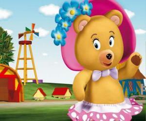 Puzle Paní obtloustlý medvěd soused Noddy