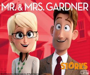 Puzle Pan a paní Gardner, Čapí dobrodružství