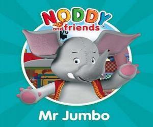 Puzle Pan Jumbo slona