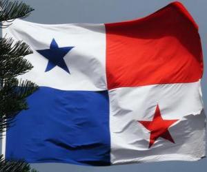 Puzle Panamská vlajka