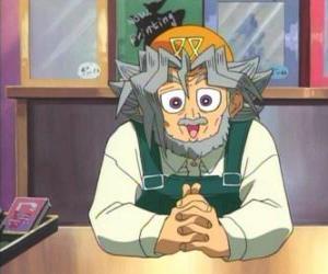 Puzle Panenky manekýnky, Sugoroku Muto nebo Šalamounovy Muto je Yugi dědeček a majitel prodejny stolních her