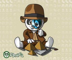 Puzle Panfu detektiv