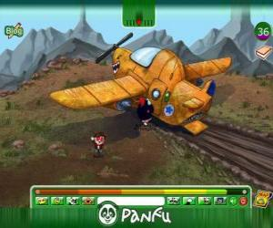 Puzle Panfu havárie letadla