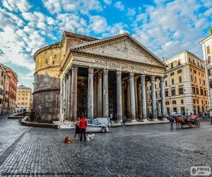 Puzle Pantheon, Římě