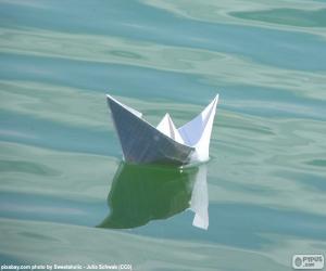 Puzle Papírové lodě