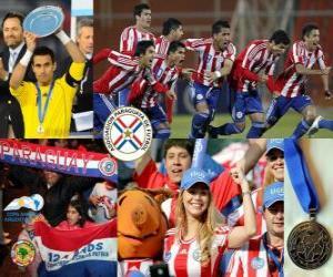 Puzle Paraguay, 2. místo 2011 Copa America