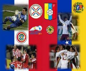Puzle Paraguay - Venezuela, semi-finále Copa América Argentina 2011