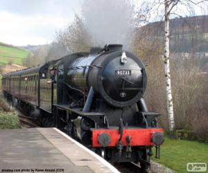 Puzle Parní lokomotiva