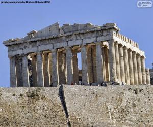 Puzle Parthenon, Řecko
