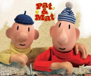 Puzle Pat a Mat, nejzábavnější kutily