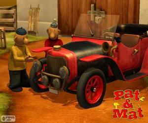 Puzle Pat a Mat u jeho auta