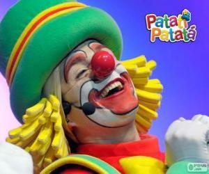 Puzle Patatá, jeden z klaunů od Patatí Patatá