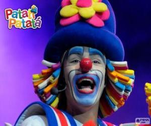 Puzle Patatí, jeden z klaunů od Patatí Patatá
