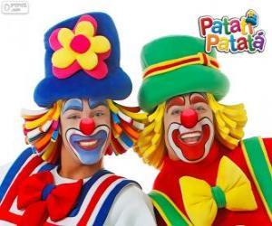 Puzle Patati Patatá klauni