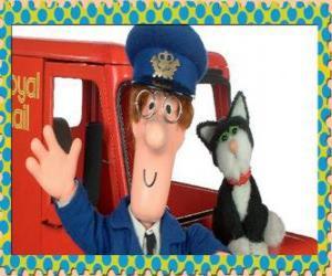Puzle Patrick Clifton, Pošťák Pat se Jess kočka