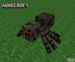 Puzle Pavouk, jeden z tvorů Minecraft