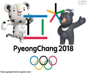 Puzle Pchjongčchang 2018 zimní olympijské hry