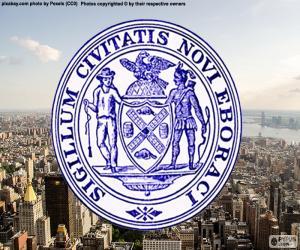 Puzle Pečeť státu New York City