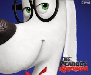 Puzle Peabody, pes, vynálezce