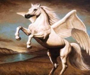 Puzle Pegas - Okřídlený kůň