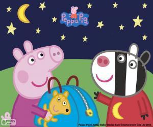 Puzle Peppa pig a Zoe Zebra