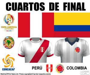 Puzle PER - COL, Copa America 2016