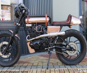Puzle Personalizované motocyklu