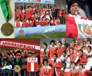 Puzle Peru, Copa America 2011 3. místo