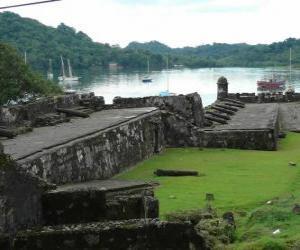 Puzle Pevnosti na panamském pobřeží Karibiku: Portobelo a San Lorenzo