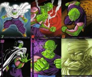 Puzle Piccolo Piccolo monstrum Daimao syn, narozený pomstít Goku. Pochází z planety Namek. Je to první učitel Syna Gohan.