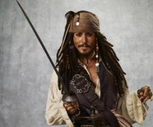 Puzle Pirát kapitán