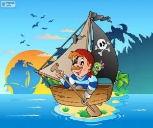 Puzle Pirátská loď