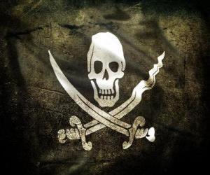 Puzle Pirátská vlajka