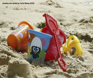 Puzle Plážové hračky