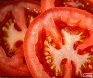 Puzle Plátky rajčat