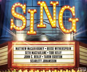Puzle Plakát Sing