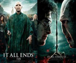 Puzle Plakáty Harry Potter a Relikvie smrti (6)