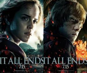 Puzle Plakáty Harry Potter a Relikvie smrti (4)
