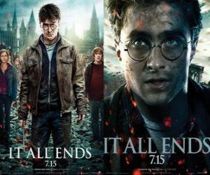 Puzle Plakáty Harry Potter a Relikvie smrti (3)