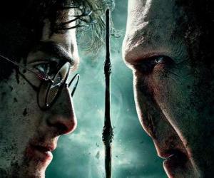 Puzle Plakáty Harry Potter a Relikvie smrti (2)