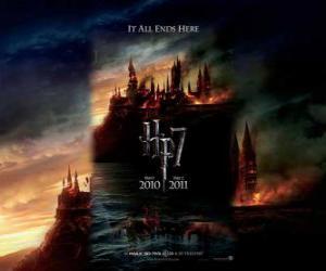 Puzle Plakáty Harry Potter a Relikvie smrti (1)