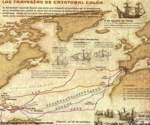 Puzle Plavby Kryštofa Kolumba