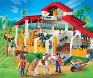Puzle Playmobil farma